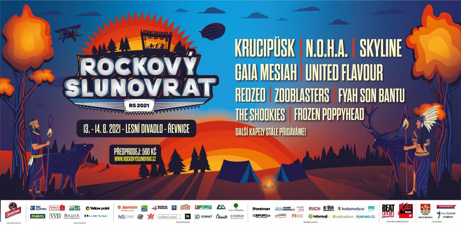 Rockový Slunovrat se opírá o české klubovky, přivítá United Flavour, Skyline, Krucipüsk nebo Gaiu Mesiah