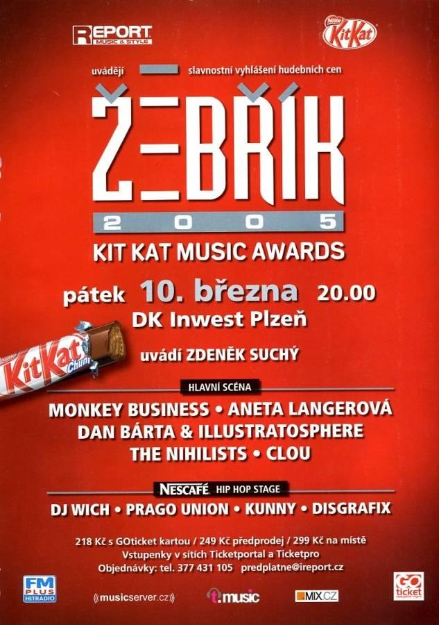 ŽEBŘÍK 2005