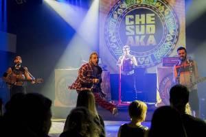 LIVE: Che Sudaka pobláznili svým temperamentem Prahu
