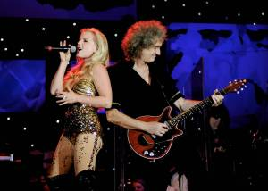 Brian May a Kerry Ellis odehrají v České republice 4 koncerty