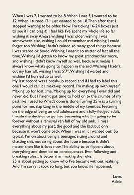 Adele prozradila vše o novém albu 25. Vyjde příští měsíc