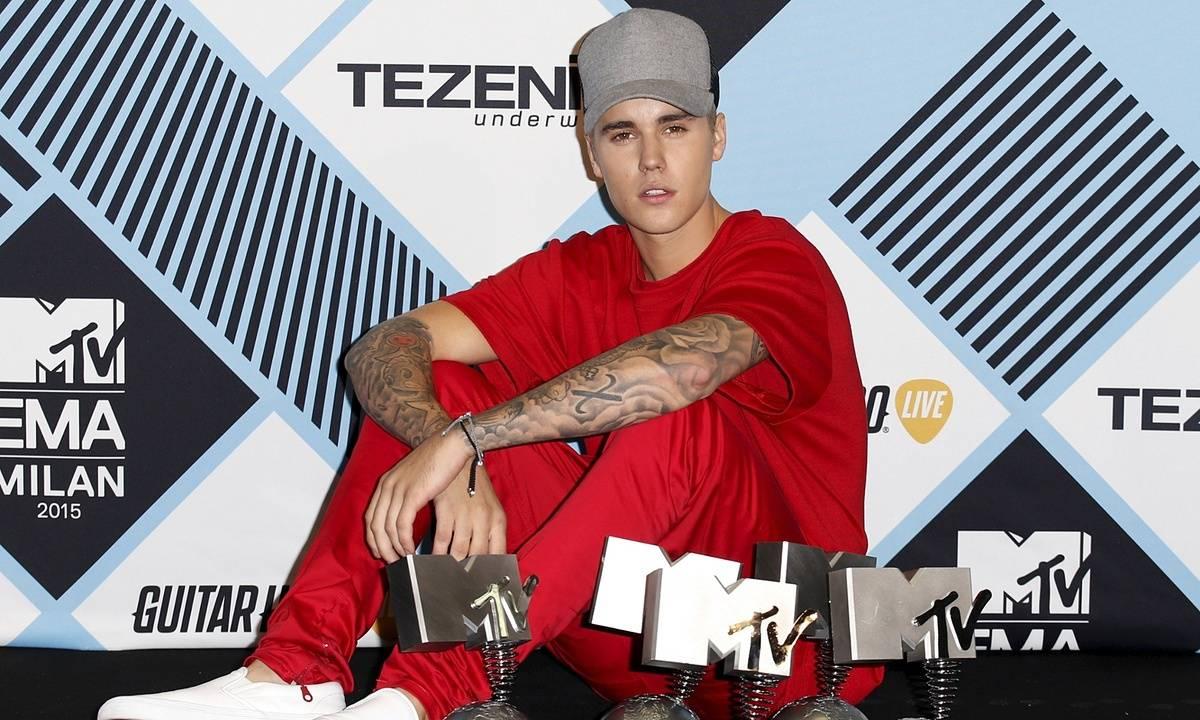 Ceny MTV EMA v Miláně sesbíral Justin Bieber