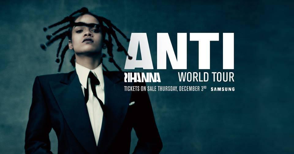Rihanna vydá album ANTI, v červenci ho přiveze do pražského Edenu