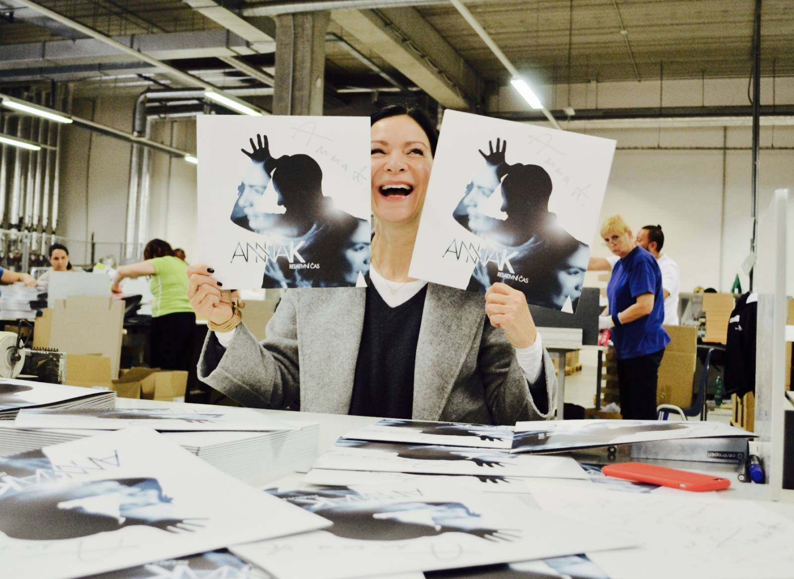Anna K. vydá Relativní čas na vinylu, novou desku chystá na příští rok