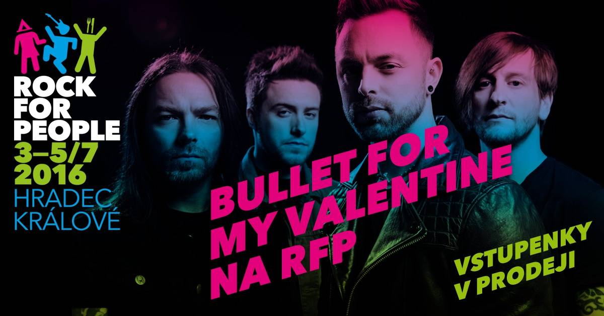 Rock for People už prodává lístky na další ročník, přijedou i Bullet For My Valentine