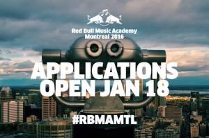 Red Bull Music Academy letos zamíří do Montrealu. Přihlásit se můžete do března