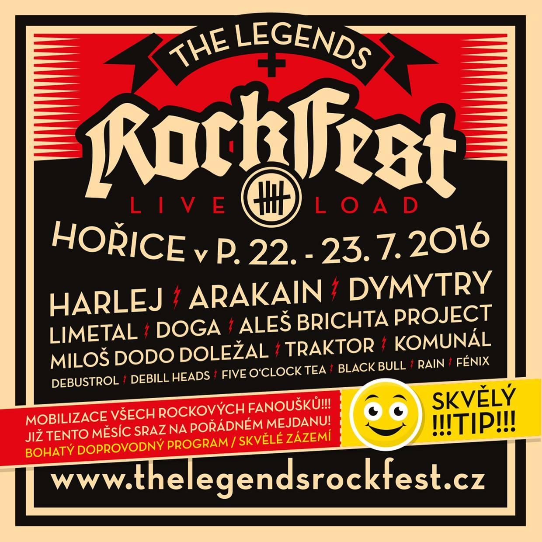 The Legends Rock fest láká na Dymytry, Arakain, Limetal či kuličkovou soutěž