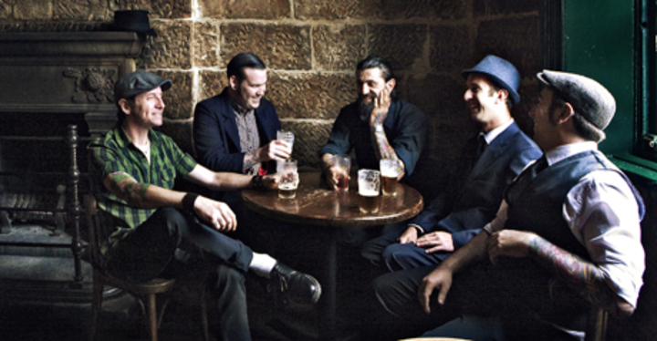 Australští celtic punkoví Rumjacks se vrací do pražského Rock Café!