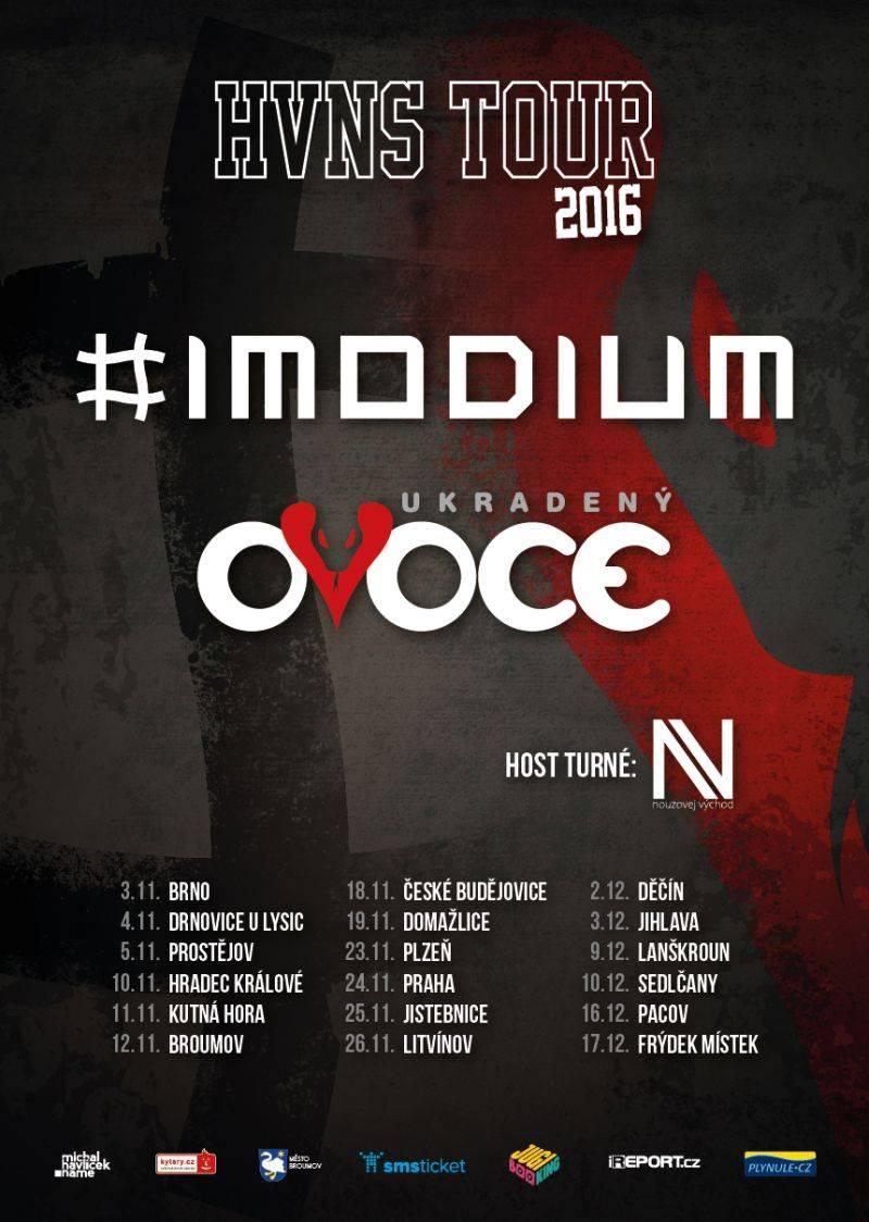 Imodium a ukradenýOVOCE vyráží na HVNS tour
