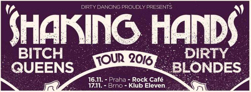 Dirty Blondes a švýcarští Bitch Queens se chystají na evropské turné, zahájí ho v pražském Rock Café