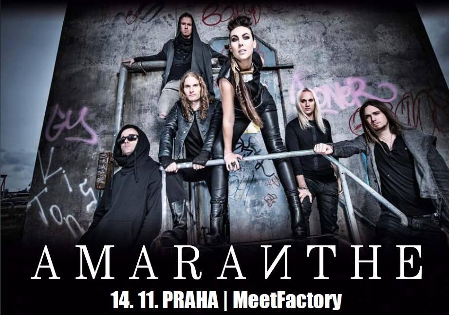 Amaranthe míří do Prahy s novým albem a obměněnou live show