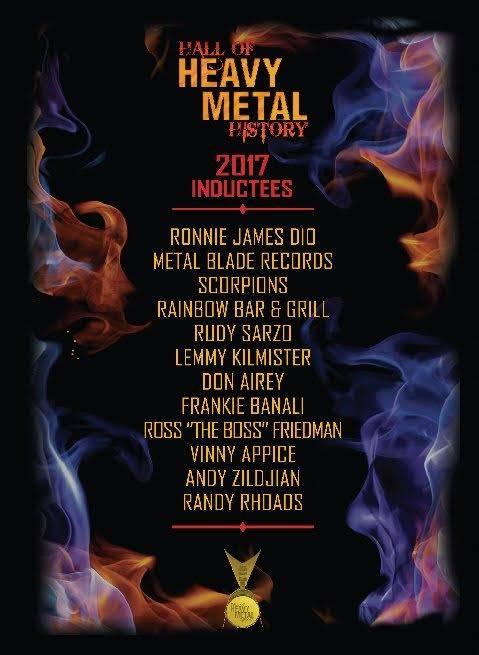 Heavy metalová síň slávy otevře své brány: Vstoupí do ní Lemmy, Scorpions nebo Ronnie James Dio