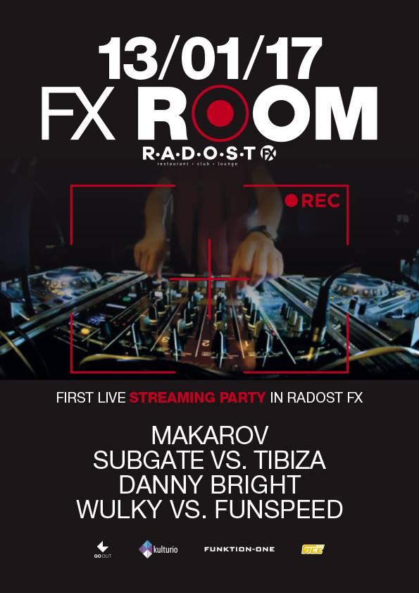 Radost FX představuje novou klubovou noc FX Room. Bude živě streamována!