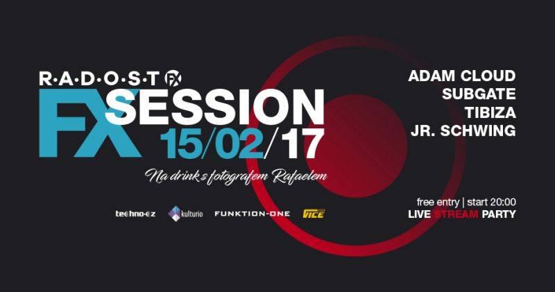 Středeční FX Session v Radosti nabídne také exkluzivní fotografický workshop, vstup je zdarma