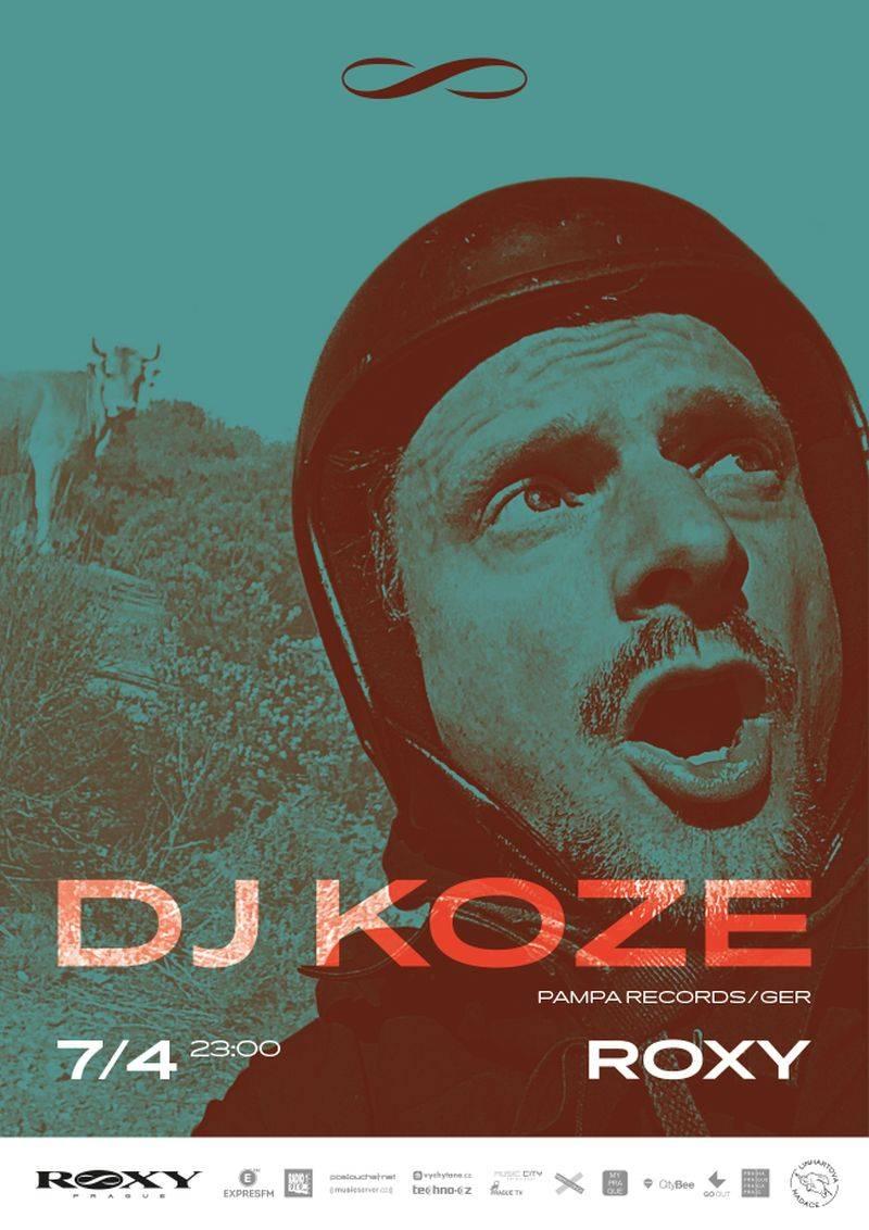 Provokatér DJ Koze vystoupí v dubnu v Roxy
