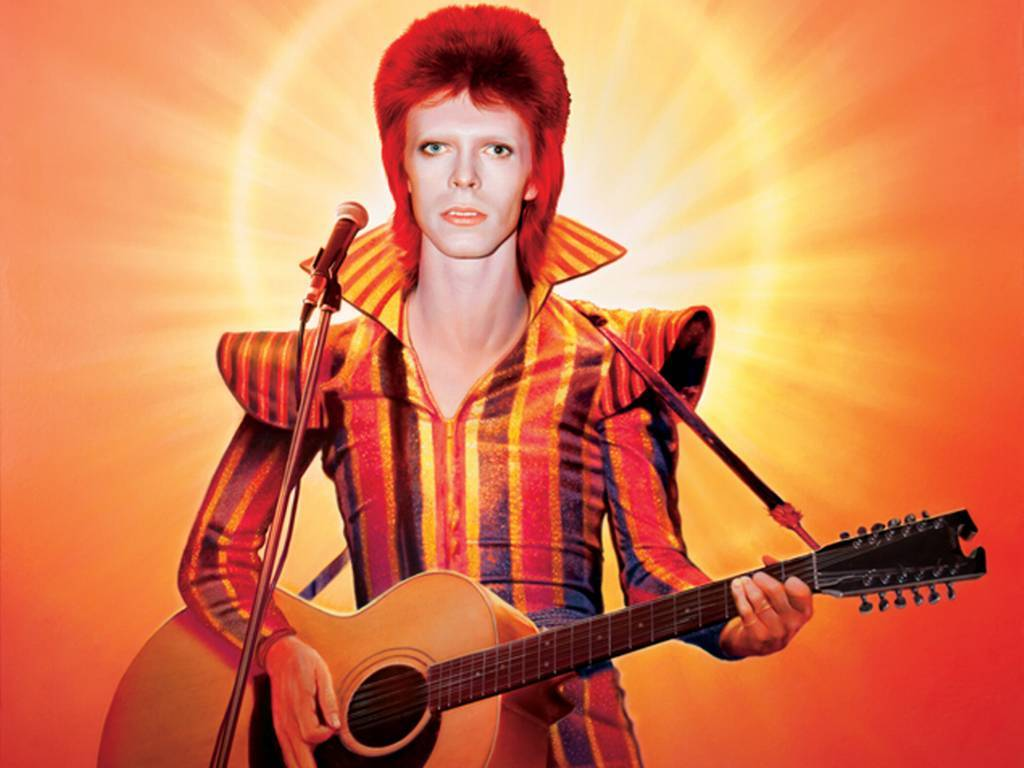 David Bowie bude mít v Londýně sochu červeného blesku. Přispět na ni můžete i vy