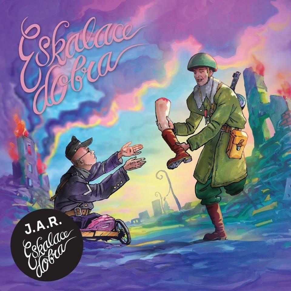J.A.R. hodili umění za hlavu,  album Eskalace dobra je pro ně nový impuls. Ukryli na něj i tajné bonusy