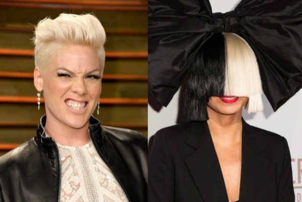 Chystá se hvězdná spolupráce: Sia bude mít píseň s Pink!