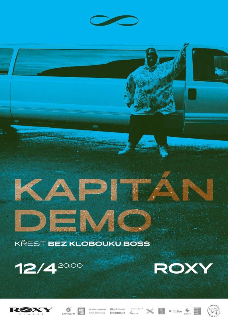 Kapitán Demo promění při křtu svého alba Roxy v registrační pokladnu EET