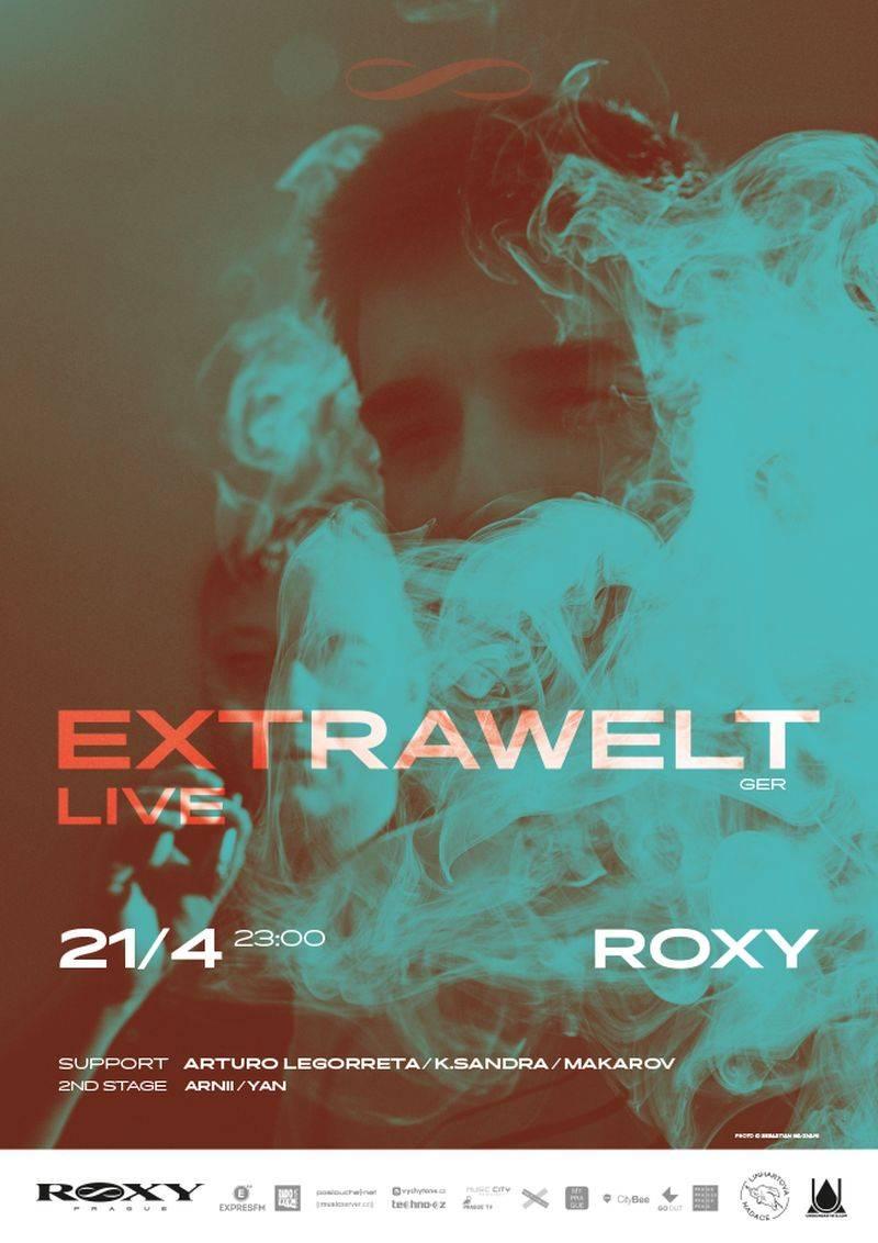 Extrawelt přivezou v pátek do Roxy krystalický elektronický sound v nejčistší podobě