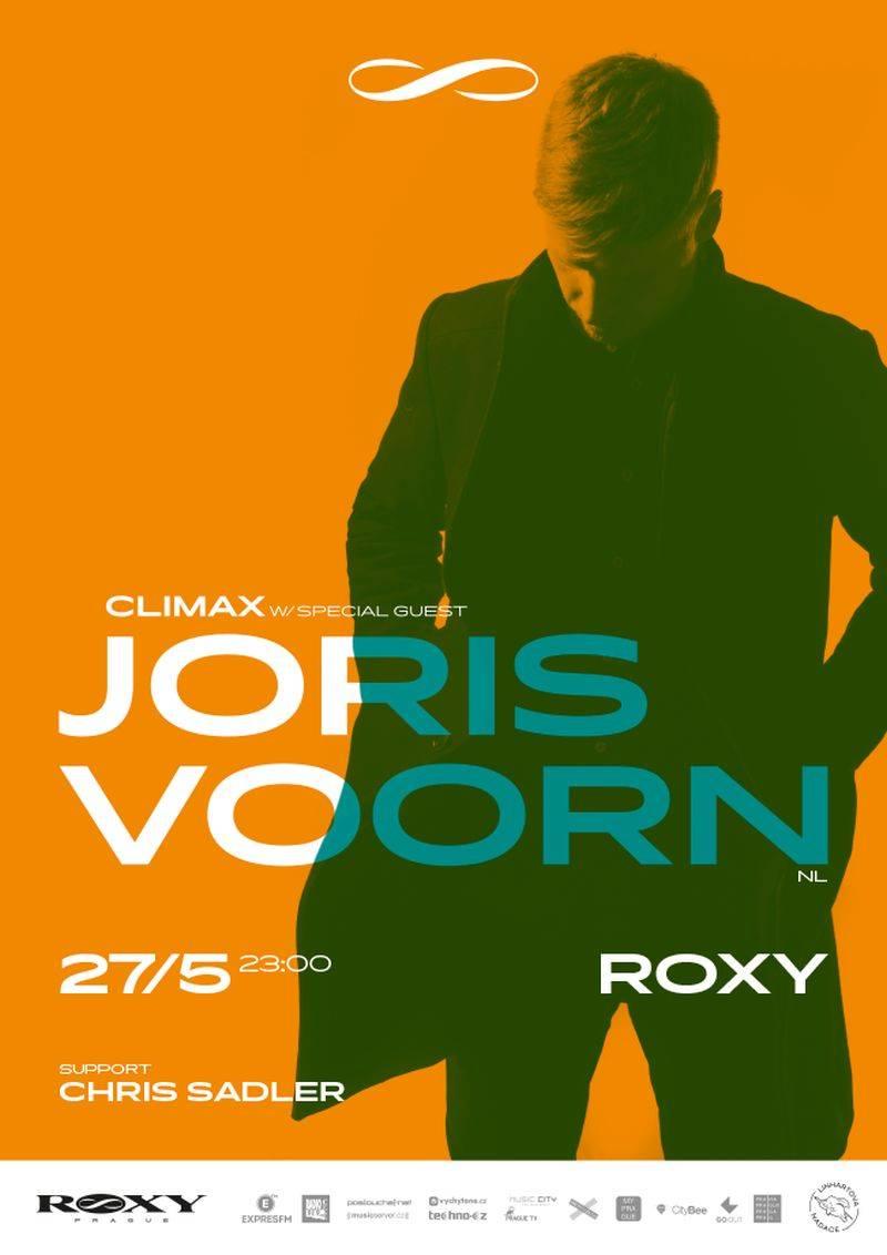 Joris Voorn v květnu zavítá do pražské Roxy. Remixoval Mobyho i Lanu Del Rey