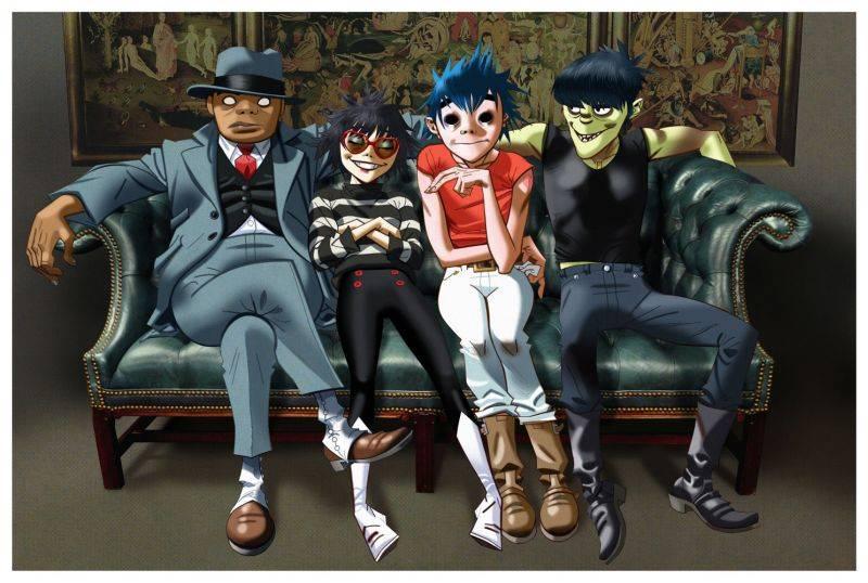 Nové desky: Animovaní Gorillaz, rapperka SharkaSs nebo nebojácní David Stypka a Bandjeez