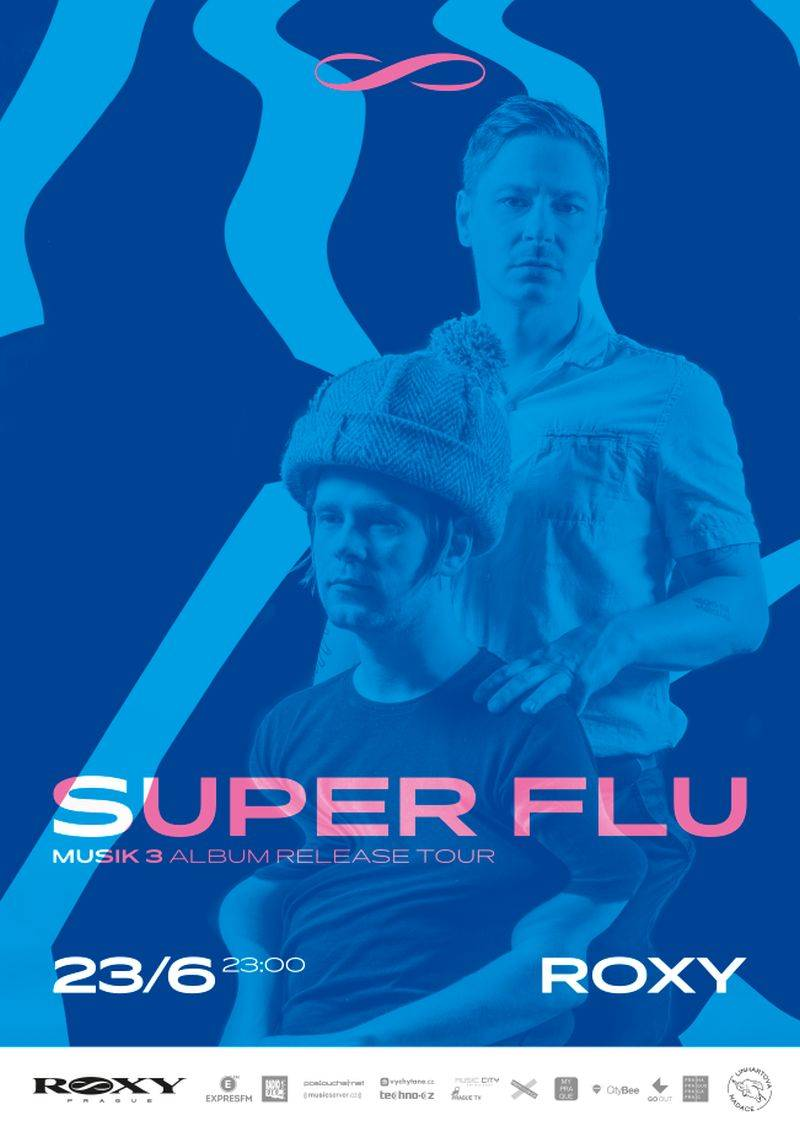 Klubová sezóna v Roxy vyvrcholí s houseovými baviči Super Flu