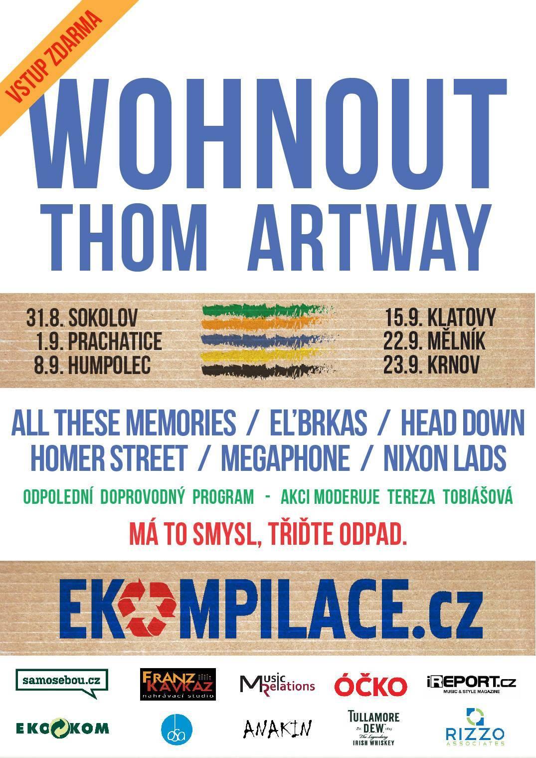 Ekompilace má před sebou pátý ročník, letos vystoupí Wohnout a Thom Artway