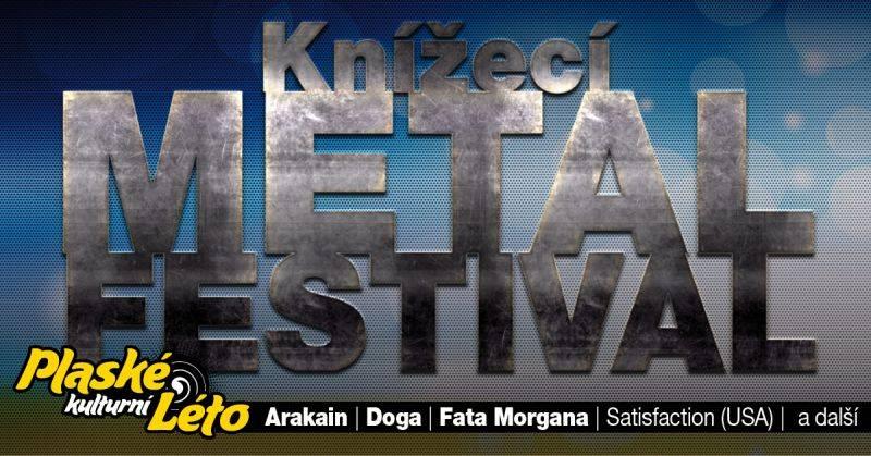 Plasy ovládne v sobotu tvrdá hudba, Knížecí metal fest bude hostit Arakain, Dogu nebo Fata Morganu