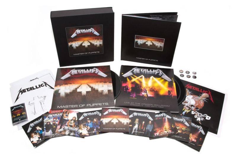 Metallica vydá reedici Master Of Puppets, jednoho z nejvlivnějších metalových alb