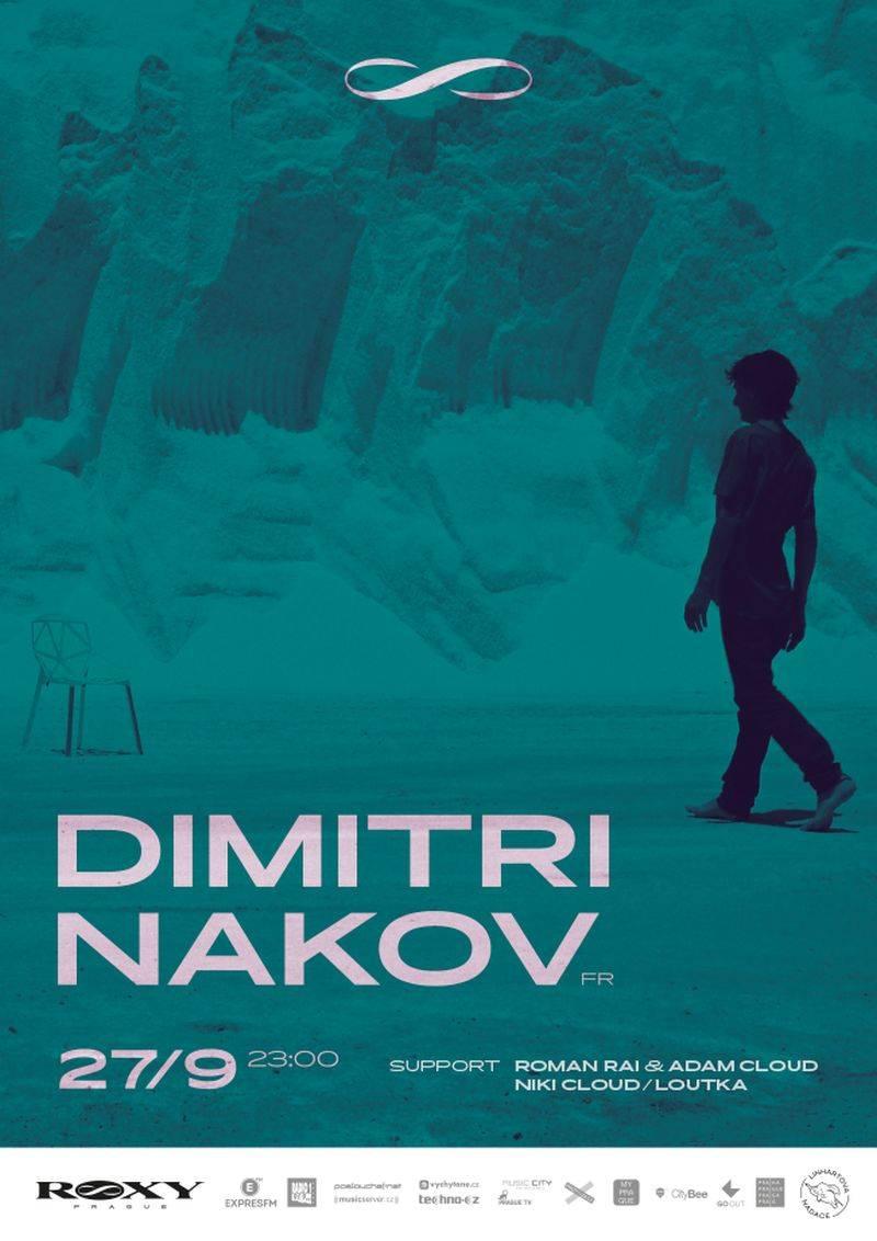 Středeční noc v Roxy ovládne Dimitri Nakov