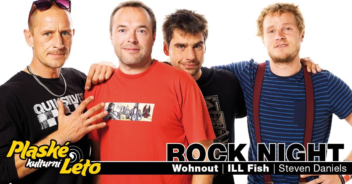 Plaské kulturní léto uzavře Rock Night s Wohnout nebo Ill Fish