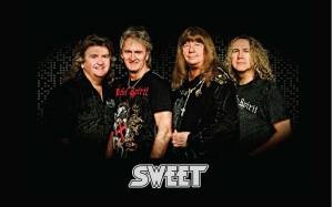 The Sweet zahrají dvakrát v České republice, představí se v Brně i Praze