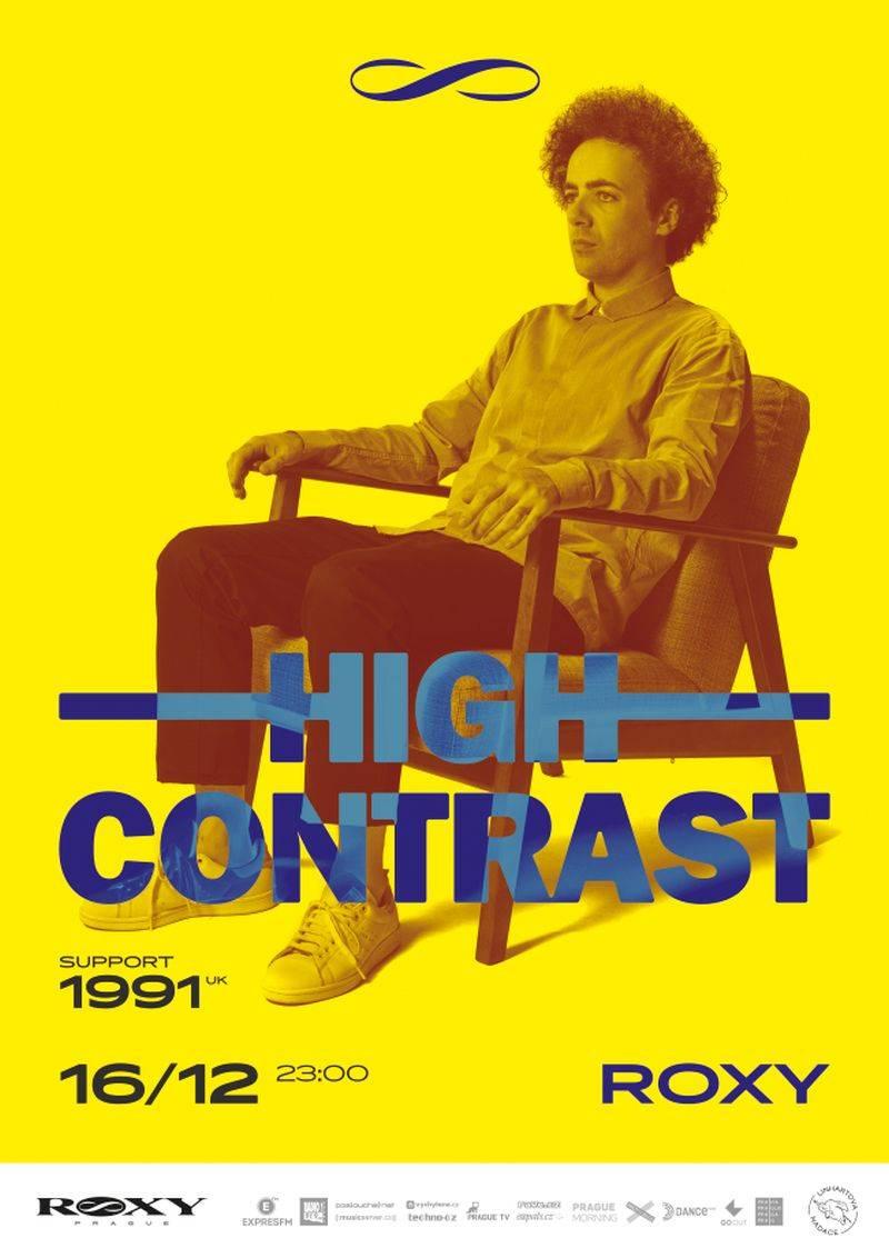 High Contrast přiveze do Roxy nové album Night Gallery