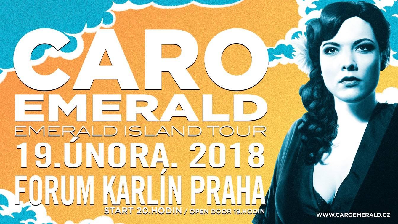Caro Emerald míří do Prahy, hostovat jí bude česká Diva Baara