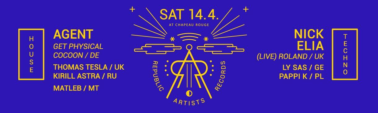O zábavu v Chapeau Rouge se ve všech třech patrech postarají umělci z Republic Artists