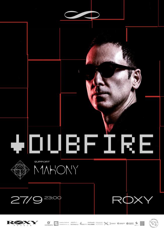 Matador elektroniky Dubfire vystoupí v září v Roxy
