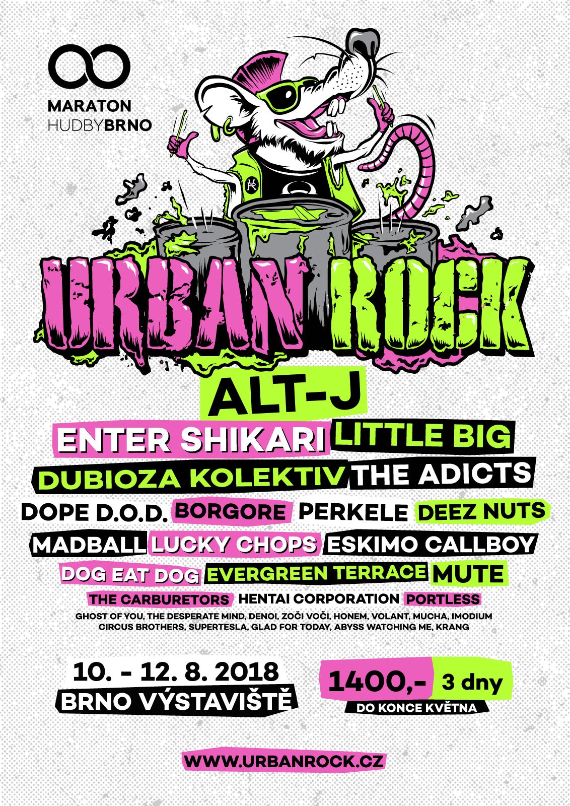 Alt-J budou hlavním lákadlem Urban Rocku, který premiérově proběhne v srpnu v Brně