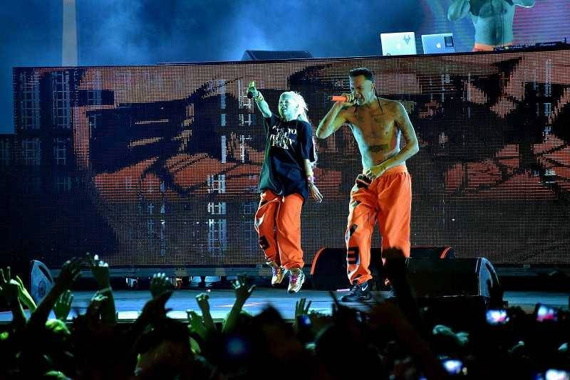 Die Antwoord zahájili evropské turné. Bizarní a provokativní show čeká i na fanoušky v Praze