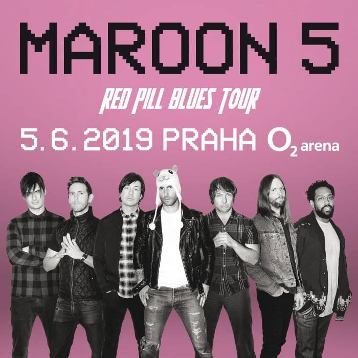 Maroon 5 už příští rok vystoupí premiérově v České republice