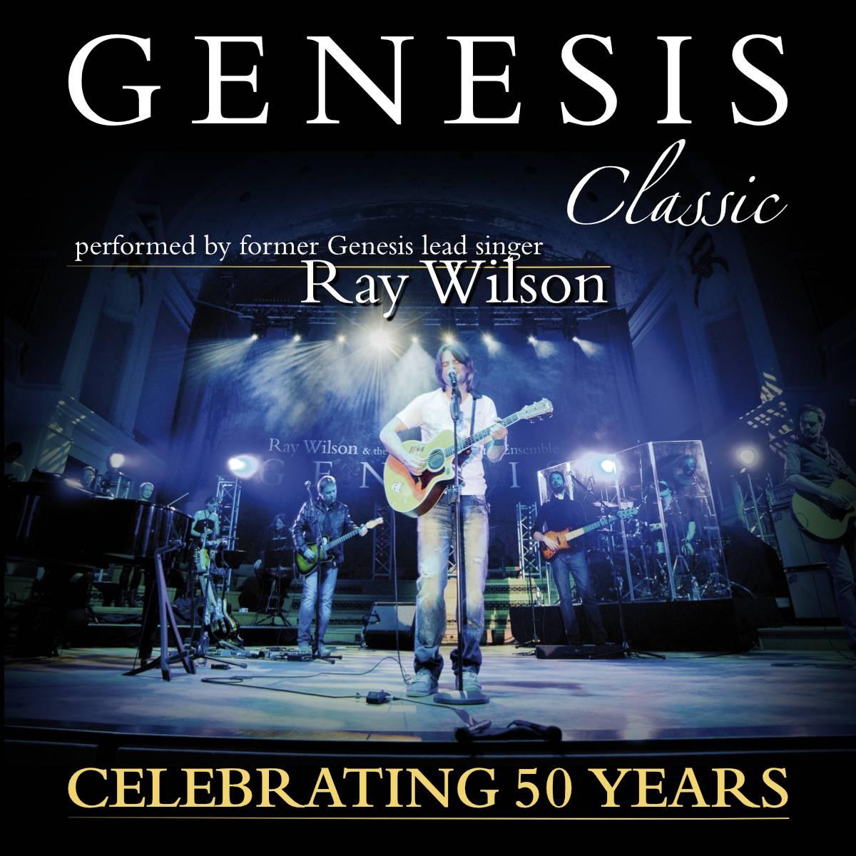 Ray Wilson připomene koncem listopadu hity Genesis v Praze a ve Zlíně