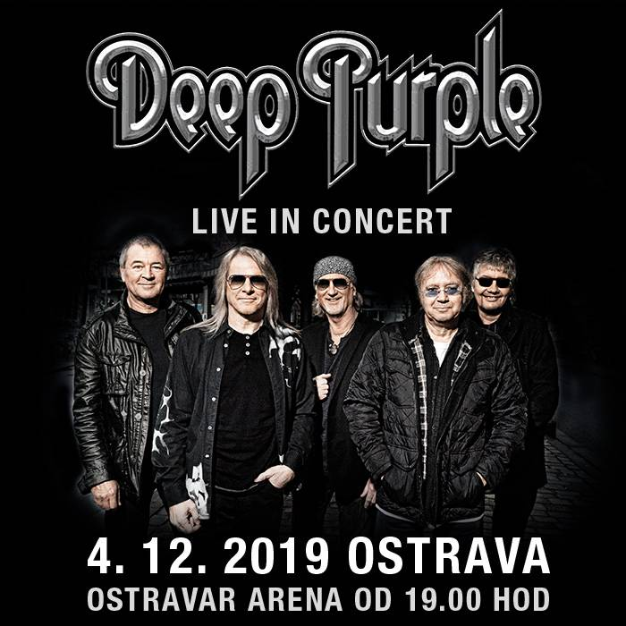 Deep Purple se v prosinci přiřítí do Ostravy