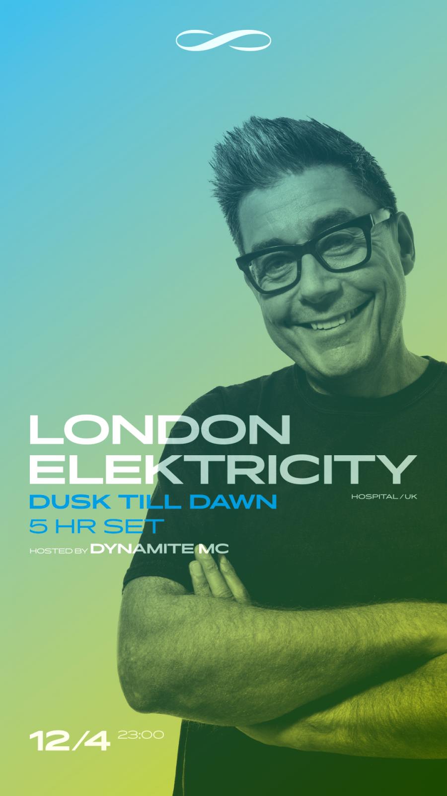 London Elektricity absolvuje před pětihodinovou show v Roxy ještě odpolední pop up v pražském obchodě s vinyly