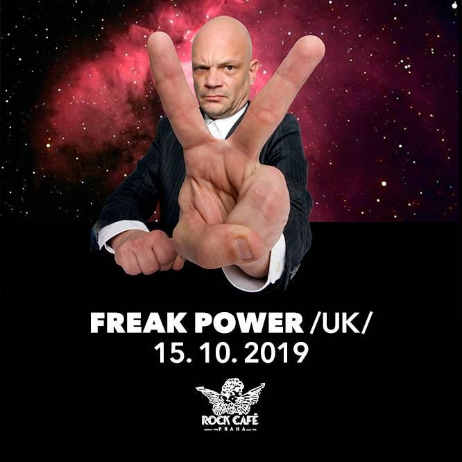 Freak Power se vrací do Prahy: Ashley Slater a spol. tentokrát obsadí pražské Rock Café