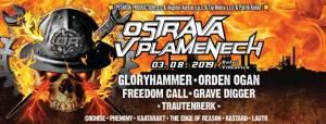 Už v první srpnovou sobotu bude Ostrava v plamenech. Zahrají Gloryhammer nebo Freedom Call