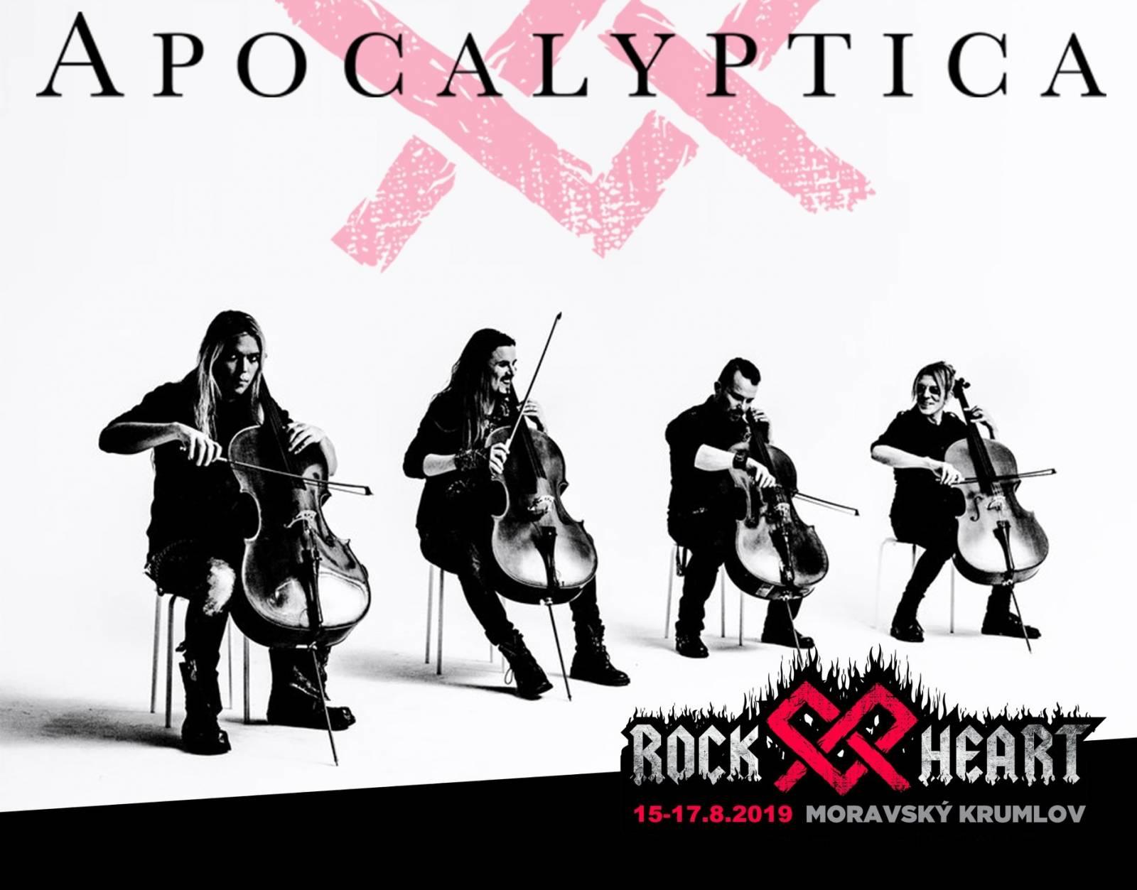 Festival Rock Heart zve do Moravského Krumlova. Zahrají Apocalyptica, Avatar Country nebo King Diamond