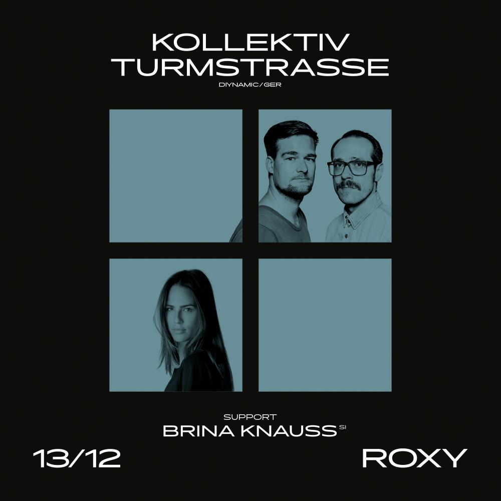 Berlínská dvojice Kollektiv Turmstrasse, která už několikrát zaplnila Roxy, se vrací