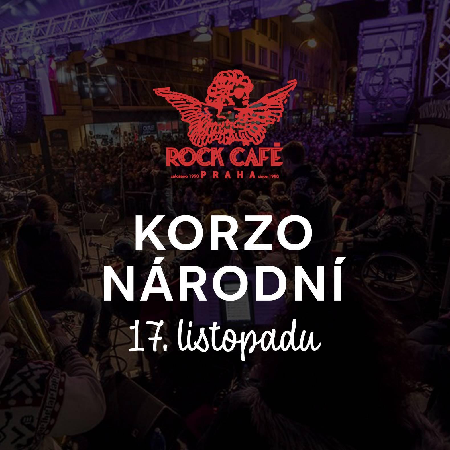 Na Národní třídě i v Rock Café se bude slavit svoboda. Zahrají David Koller, Tata Bojs, Zrní, Prago Union a další