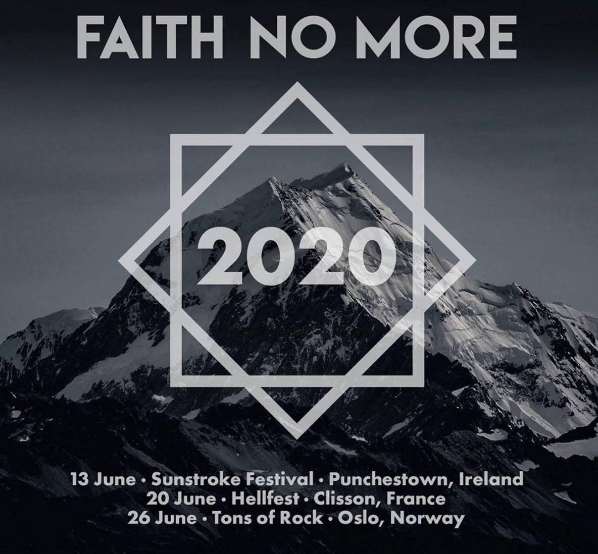 Faith No More jsou zpátky. Po pěti letech se vrací na pódia v Evropě