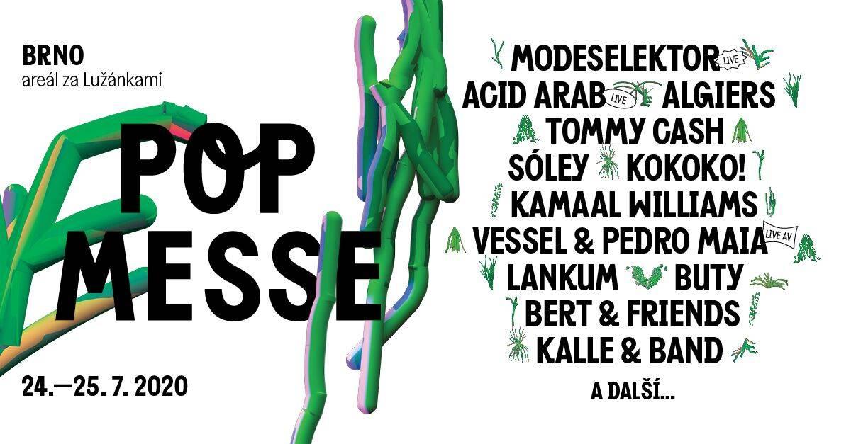 Do Brna přichází nový festival Pop Messe. Přiveze Algiers, Modeselektor, Tommyho Cashe a další